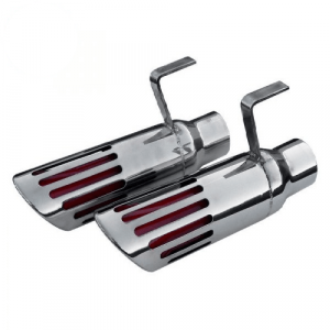 """Pypes EVT89 2.5"""" Exhaust Tail Pipe Tips for 1971-1974 Dodge Charger B-Body"""