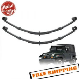 "Pro Comp 51413 Front 4"" Lifted Leaf Springs - 1987-1995 Jeep Wrangler YJ - PAIR"