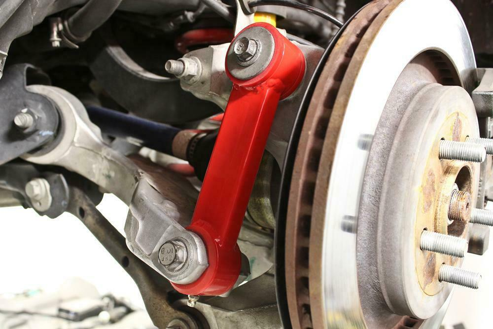 BMR Suspension Red Vertical Links w/Polyurethane Bushings for 15-20 Ford Mustang