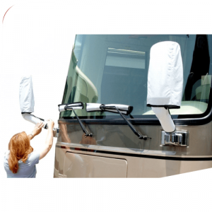 Adco 2478 White DuPont Tyvek RV Mirror & Wiper Covers for Class A Motorhome