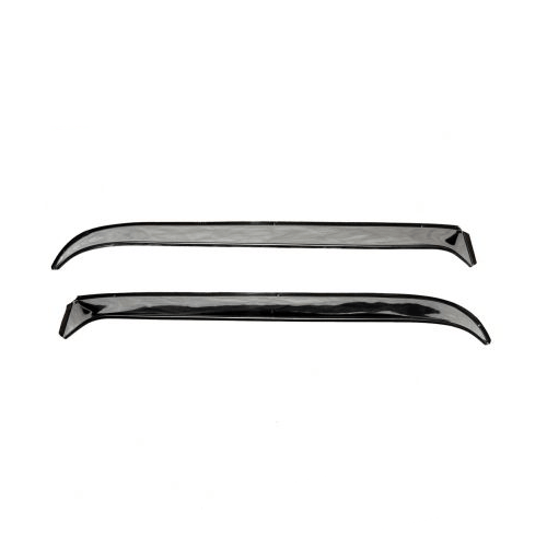 Auto Ventshade (AVS) 12031 Stainless Steel 2Pc Ventshade Deflector for 1972-1993 Dodge Ramcharger