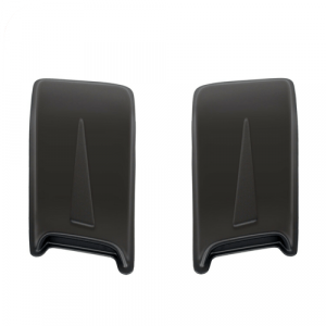 Westin 72-13011 Racing Accent Large Double Hood Scoops (Unpainted)
