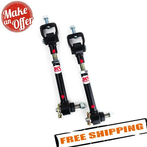 """JKS 2001 Quicker Sway Bar Disconnects for Jeep Cherokee & Comanche, 4""""-6"""" Lift"""