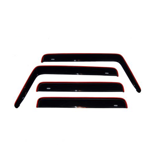 Auto Ventshade (AVS) 94329 4Pc In-Channel Ventvisor Side Window Deflectors for 03-09 Hummer H2