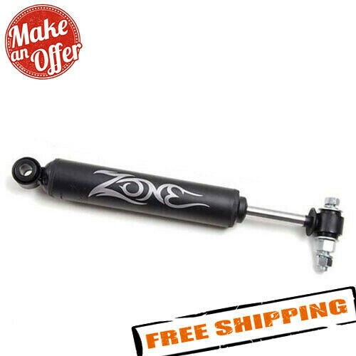 Zone Offroad Steering Stabilizer Black for Jeep CherokeeComanche/Wrangler 84-06