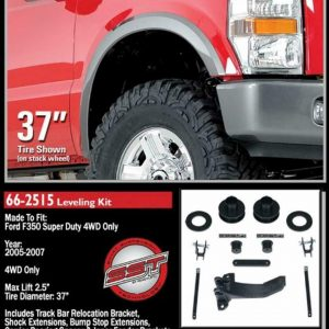 """ReadyLift 66-2515 2.5"""" Front Leveling Kit for 2005-2007 Ford Super Duty 4 WD"""