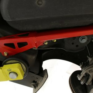 BMR Suspension CB762 Red IRS Subframe Support Brace System for Ford Mustang