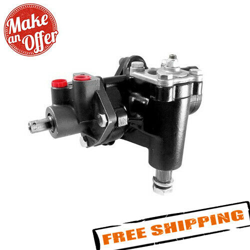 Borgeson 800106 Delphi 600 Conversion Power Steering Gear Box for 58-64 Chevy