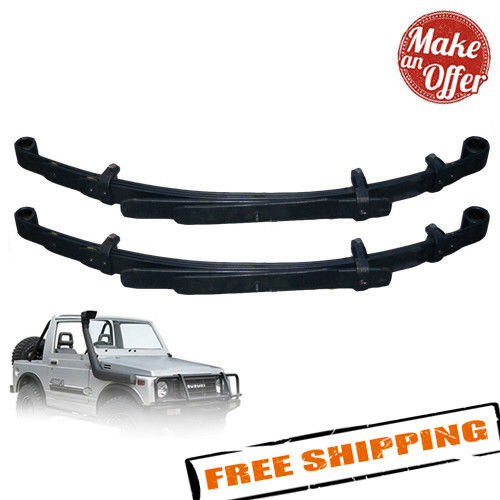 "ARB CS038R Pair of Old Man EMU Rear Leaf Springs 1.5"" Lift for 1986-1995 Samurai"