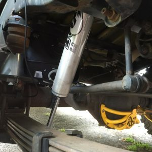 Fox 2.0 Front & Rear IFP Shocks for 2006-2010 Hummer H3 4WD - Set of 4