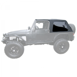 Rampage 109635 Frameless Trail Top for 2004-2006 Jeep Wrangler LJ Unlimited