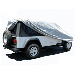 Rampage 1202 Custom-Fit Car Cover for 2004-2006 Jeep Wrangler TJ Unlimited