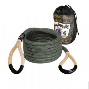 """Bubba Rope 176655BKG 3/4"""" x 20' Renegade Series Synthetic Rope with Black Eyes"""