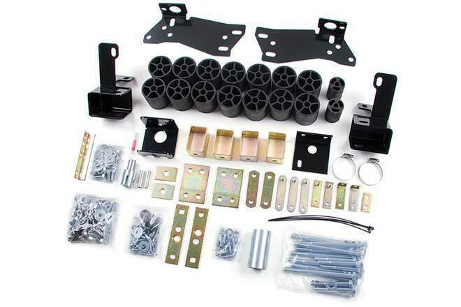 "Zone Offroad 3"" Body Lift Kit for 2006-2007 Chevrolet Silverado/GMC Sierra 1500"