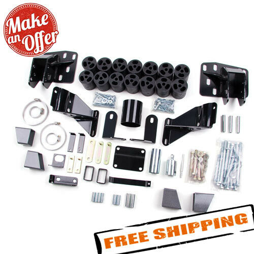 "Zone Offroad ZOND9345 3"" Body Lift Kit for 2006-2008 Dodge Ram 1500"