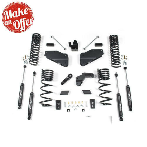 """Zone Offroad D53N 6.5"""" Lift Suspension System for 14-16 Ram 2500 (DIESEL)"""