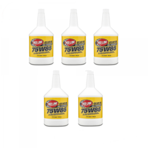 Red Line Oil 50104 Fully Synthetic 75W85 GL-5 Gear Oil - 5 Quarts