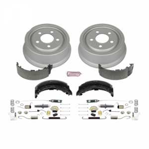 Power Stop KOE15300DK 1-Click Daily Driver Rear Drum and Shoe Kit