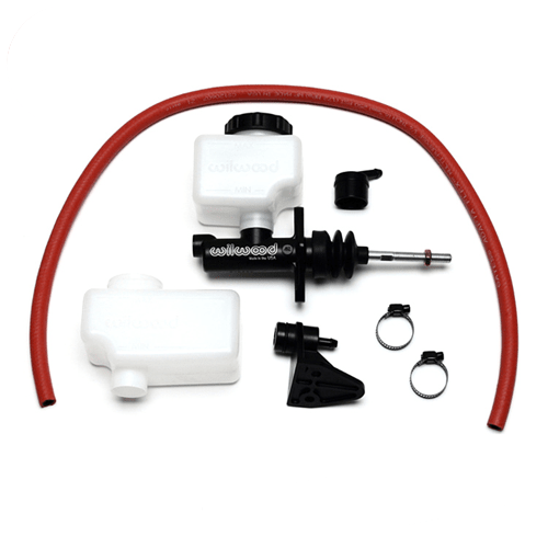 Wilwood 260-10375 Compact Remote Flange Mount Master Cylinder Kit, 1 in. Bore