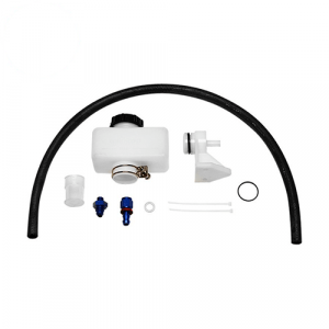 Wilwood 260-8742 Compact Remote Master Cylinder with Fittings Reservoir Kit