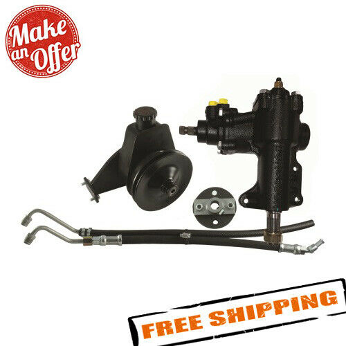 Borgeson 999027 Power Steering Conversion Kit for 1968-1970 Ford Mustang