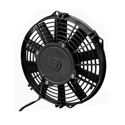 """SPAL 30100392 9.00"""" Low Profile Puller Fan with Straight Blades, 12V"""