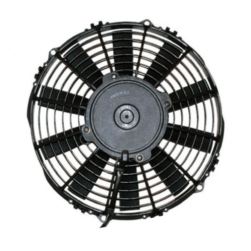 """SPAL 30101505 12"""" Medium Profile Pusher Electric Fan with Straight Blades"""
