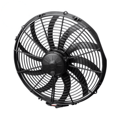 """SPAL 30102113 16"""" Extreme Performance Puller Electric Fan with Curved Blades"""