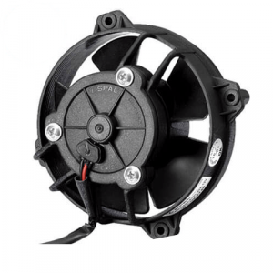 """SPAL 30103018 4"""" Low Profile Puller Electric Fan with Paddle Blades"""