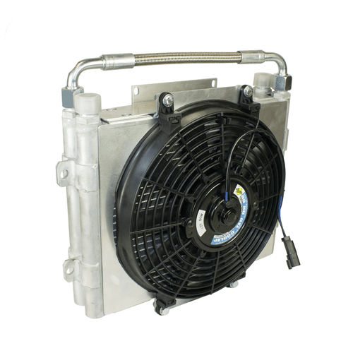 BD Diesel Xtruded Double Stacked Auxiliary Transmission Cooler - 1300601-DS