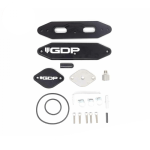 GDP Cooler Upgrade Kit w/ Pass Through Plate for 2017-2019 Ford 6.7L Powerstroke