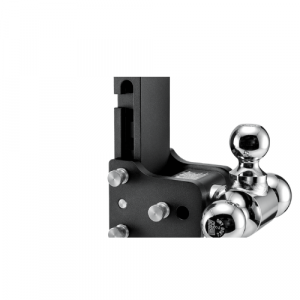 """B&W TS20067BMP MultiPro Tow & Stow Tri-Ball Mount 2.5"""" Hitch, 7"""" Drop, 7.5"""" Rise"""