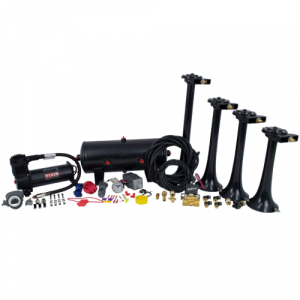 HornBlasters HK-S4-244K Conductor's Special 244 Nightmare Edition Train Horn Kit
