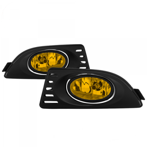 Spyder 5020680 Yellow OEM Fog Lights w/Switch for 2005-2007 Acura RSX