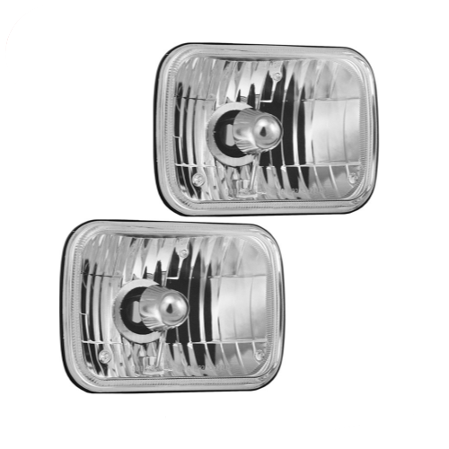 """Vision X 5"""" x 7"""" Sealed Beam Replacement Light Kit for 87-95 Jeep Wrangler YJ"""