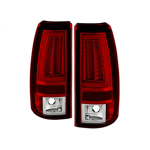 Spyder 5081926 LED Tail Lights (Red Clear) for 03-06 Chevy Silverado 1500/2500