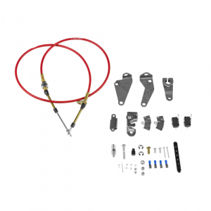 B&M 81020 Hammer Console Shifter Installation Kit for 1987-2004 Ford Mustang
