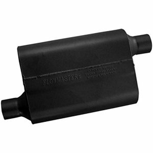 Flowmaster 40 Series Muffler - 2.25 Offset In/2.25 Offset Out - Aggressive Sound