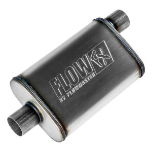 """Flowmaster 71226 Universal Mufflers, 2.5"""" Offset In / 2.5"""" Center Out - Set of 2"""