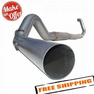 """MBRP S62220PLM 5"""" Turbo Back Exhaust for Ford F-250/350 7.3L Powerstroke Diesel"""