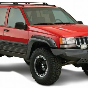 Bushwacker 10916-07 Cut-Out Fender Flares for 1993-1998 Jeep Grand Cherokee