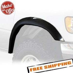 Bushwacker 22003-11 Front Extend-A-Fender Flares for 1992-2014 Ford E-Series