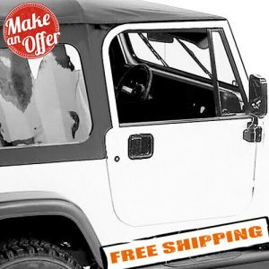 Rampage 68035 Complete Tinted Soft Top Kit for 1987-1995 Jeep Wrangler YJ