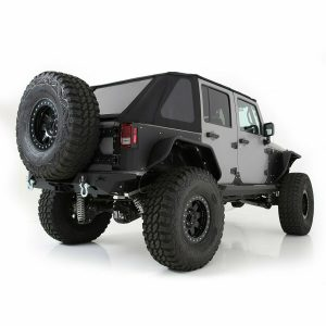 Smittybilt 9083235 Bowless Combo Top w/ Tinted Windows for Jeep Wrangler JK 4-Dr