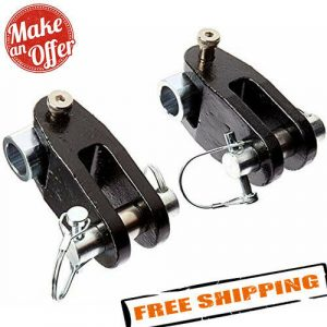 """Roadmaster 035 3/4"""" Thick Adapter D-Ring Bumper Mounts to Tow Bars"""