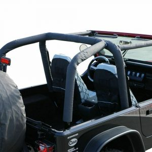 Rampage 768915 Roll Bar Pad and Cover Kit for 1992-1995 Jeep Wrangler YJ