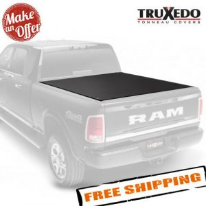 TruXedo 1446901 Soft Roll-Up Tonneau Cover for 2009-2018 Dodge / Ram - 6.4' Bed