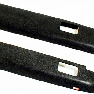 """Westin 72-41111 Bed Rail Caps for 1988-1998 Chevy & GMC C/K Trucks - 6'6"""" Bed"""