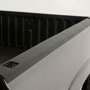 """Westin 72-41411 Black Bed Rail Caps for 1994-2002 Dodge Ram - 6'4"""" Bed"""