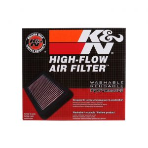 K&N 33-2458 Replacement Air Filter for 2010-2015 BMW 135I / 335I / X1 3.0L L6